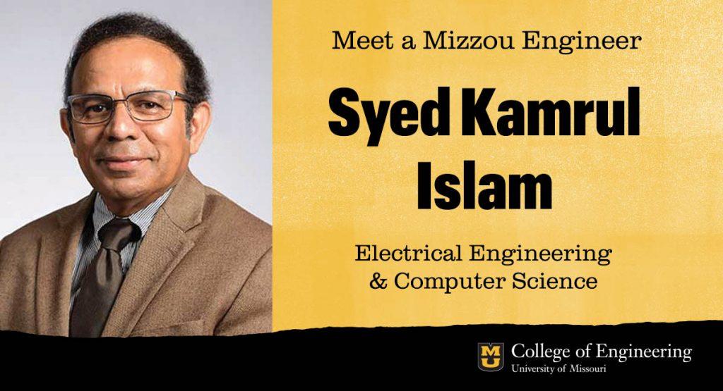 Syed Kamrul Islam portrait