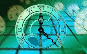 graphic of clock