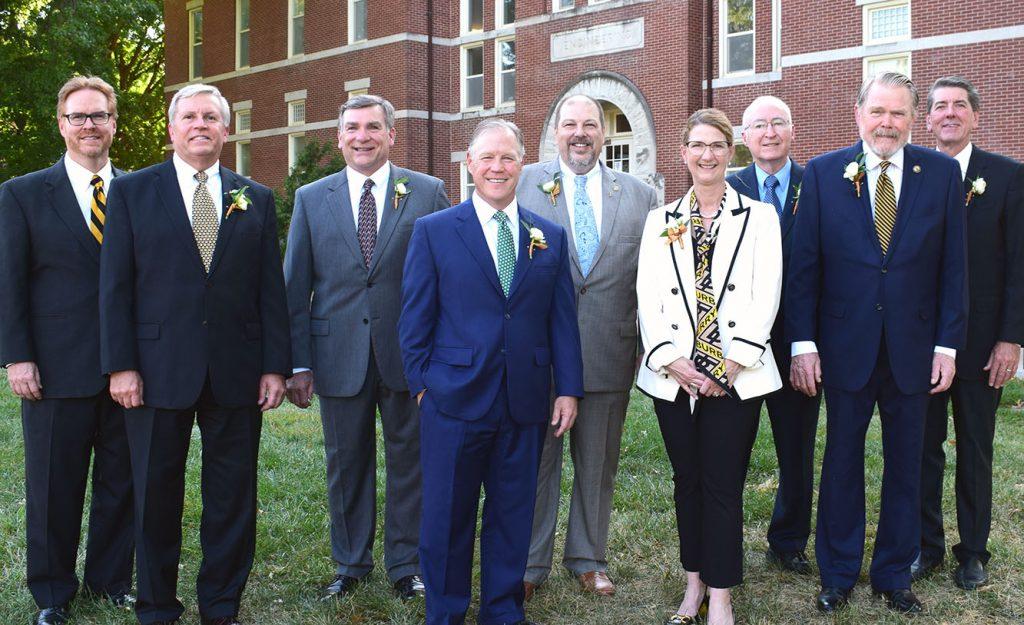 Alumni ward recipients