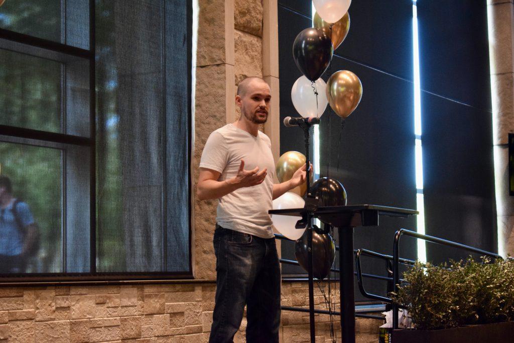 Entrepreneur and alumnus Wade Foster